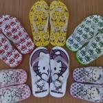 Peluang Usaha Produksi Sandal Jepit Kartun