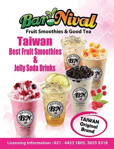 Peluang Usaha Kemitraan Barnival (Minuman Asal Taiwan)
