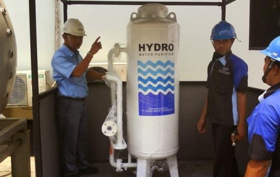 Omzet Miliaran dari Bisnis Penjernihan Air