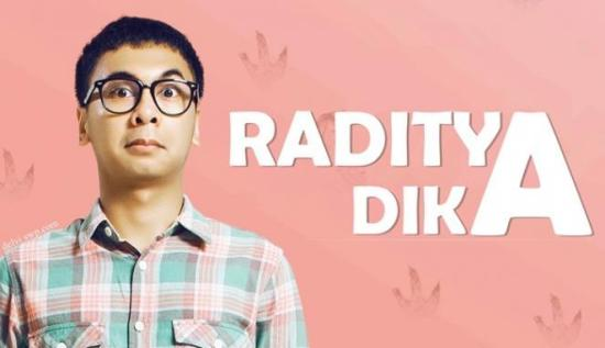 Kisah Sukses Raditya Dika Dari Blog Hingga Ke TV