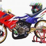 Gaya Modif Thailook Kawasaki Ninja 150R