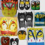 Peluang Usaha Bisnis Pembuatan Sandal Unik