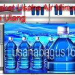Peluang Usaha Air Isi Ulang Beromzet Besar