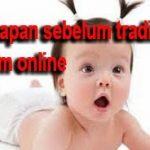 Persiapan Dasar Sebelum Trading Saham Online