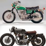 Koleksi Gambar Modif Motor Tua Yamaha